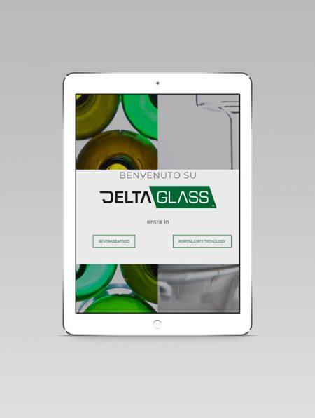 Ipad con sito Deltaglass