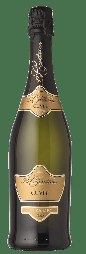 Progettazione etichetta scudetto cuvée extra dry